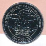 Фиджи, 10 долларов (2011 г.)