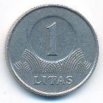 Литва, 1 лит (1999–2002 г.)