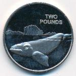 Британская Антарктика, 2 фунта (2017 г.)