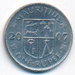 Маврикий, 1 рупия (2007 г.)