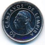 Гондурас, 50 сентаво (2005–2007 г.)