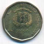 Доминиканская республика, 1 песо (2008 г.)