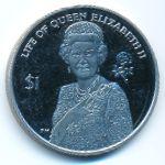 Океанские Территории, 1 доллар (2012 г.)