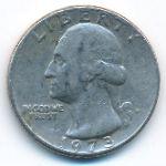 США, 1/4 доллара (1973 г.)