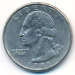 США, 1/4 доллара (1996 г.)