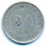 Кванг-Тунг, 20 центов (1921 г.)