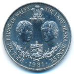Гернси, 25 пенсов (1981 г.)