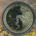 Новая Зеландия, 1 доллар (2012 г.)