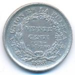 Боливия, 20 сентаво (1888 г.)
