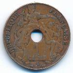 Французский Индокитай, 1 цент (1938 г.)