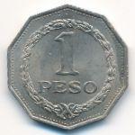 Колумбия, 1 песо (1967 г.)