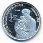 Майотта, 1/4 евро (2004 г.)