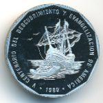 Доминиканская республика, 1 песо (1989 г.)