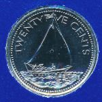 Багамские острова, 25 центов (1979 г.)
