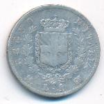 Италия, 1 лира (1863 г.)