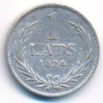 Латвия, 1 лат (1924 г.)