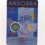 Андорра, 2 евро (2015 г.)