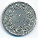 Швейцария, 10 раппенов (1952 г.)