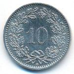 Швейцария, 10 раппенов (2002 г.)