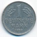 ФРГ, 1 марка (1957 г.)
