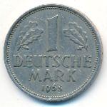 ФРГ, 1 марка (1965 г.)