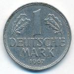 ФРГ, 1 марка (1967 г.)