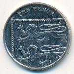 Великобритания, 10 пенсов (2013 г.)