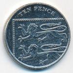 Великобритания, 10 пенсов (2014 г.)
