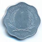 Восточные Карибы, 1 цент (1981 г.)