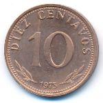 Боливия, 10 сентаво (1973 г.)