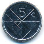Аруба, 5 центов (2018 г.)