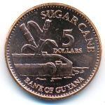Гайана, 5 долларов (2002–2012 г.)