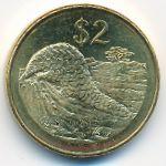 Зимбабве, 2 доллара (2001 г.)