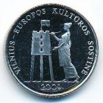 Литва, 1 лит (2009 г.)