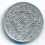 ЮАР, 3 пенса (1938 г.)