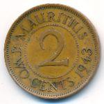 Маврикий, 2 цента (1943 г.)