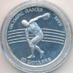 Ниуэ, 10 долларов (1991 г.)