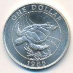 Бермудские острова, 1 доллар (1986 г.)