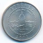 США, 1/2 доллара (2001 г.)