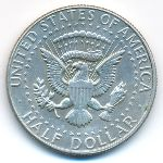 США, 1/2 доллара (1965–1969 г.)