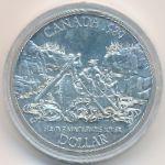 Канада, 1 доллар (1989 г.)