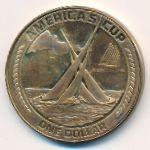 Американское Самоа, 1 доллар (1988 г.)