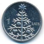 Латвия, 1 лат (2009 г.)