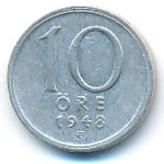 Швеция, 10 эре (1948 г.)