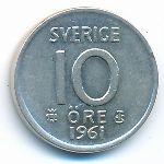Швеция, 10 эре (1961 г.)