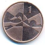 Гибралтар, 1 пенни (2019 г.)