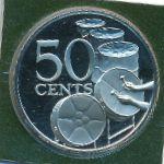 Тринидад и Тобаго, 50 центов (1979 г.)