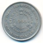Бурунди, 10 франков (1968 г.)