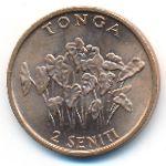 Тонга, 2 сенити (1981 г.)