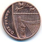 Великобритания, 1 пенни (2016 г.)